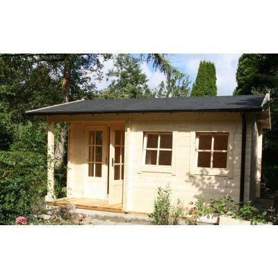 Afbeelding 29 van Azalp CLASSIC blokhut Cottage Style Cumberland 520x430 cm, 45 mm