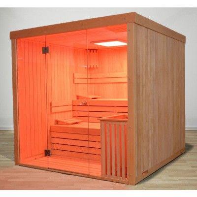 Afbeelding 42 van Azalp Sauna rugleuning Lumen, Elzen