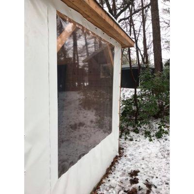 Afbeelding 2 van Azalp Verandazeil met raam 1.80-3.00 meter