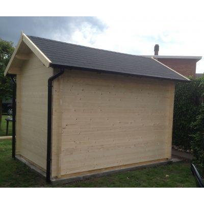 Bild 29 von Azalp Blockhaus Lis 350x250 cm, 30 mm
