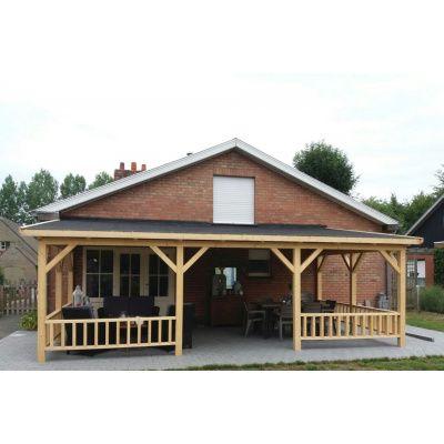 Bild 31 von Azalp Terrassenüberdachung Holz 600x400 cm