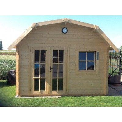 Bild 22 von Azalp Blockhaus Cornwall 400x350 cm, 30 mm