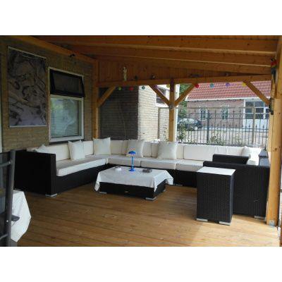 Afbeelding 15 van Azalp Houten veranda 400x400 cm