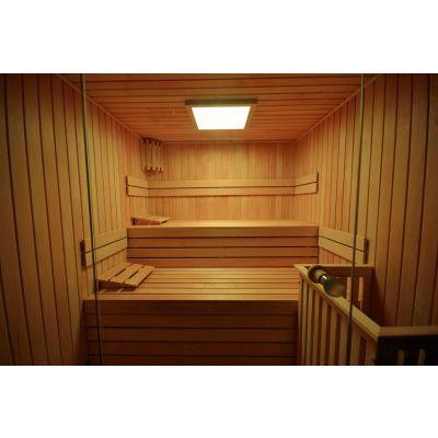 Afbeelding 35 van Azalp Sauna rugleuning Lumen, Elzen