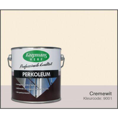 Hoofdafbeelding van Koopmans Perkoleum, Crèmewit 9001, 2,5L zijdeglans