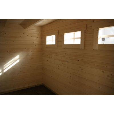 Bild 9 von Azalp Blockhaus Ingmar 350x350 cm, 30 mm