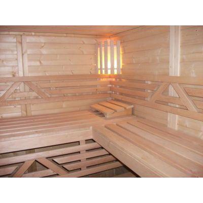 Afbeelding 25 van Azalp Massieve sauna Genio 150x150 cm, 45 mm
