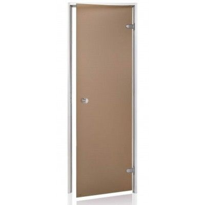 Hoofdafbeelding van Hot Orange Stoombad deur Au 90x200 cm, mat brons