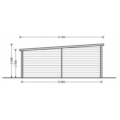 Bild 4 von Graed Modern Garage 400x600 cm, 44 mm