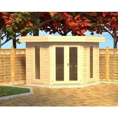 Bild 4 von Azalp Blockhaus Dario 270x270 cm, 45 mm