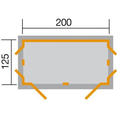 Afbeelding 2 van Weka Garten[Q] Kompakt antraciet