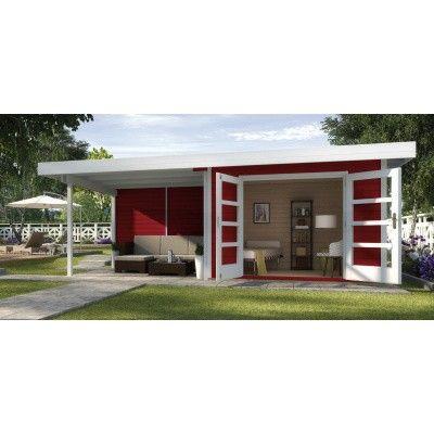 Hoofdafbeelding van Weka Designhuis 126 B Gr.2, 590x300 cm Zweeds rood