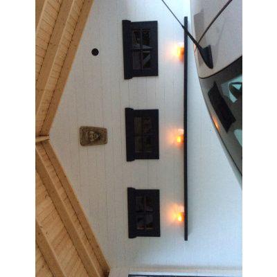 Bild 7 von Azalp Blockhaus Cas 590x300 cm, 45 mm
