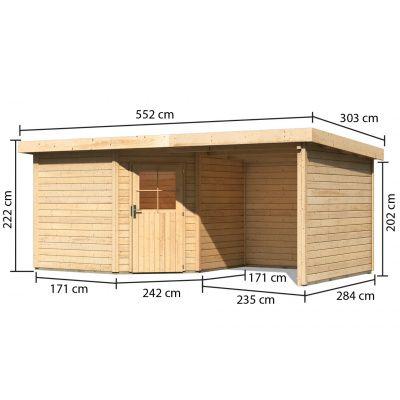 Afbeelding 3 van Woodfeeling Neuruppin 3 met veranda (77774)