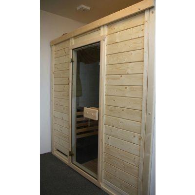 Afbeelding 24 van Azalp Massieve sauna Genio 166x166 cm, 45 mm