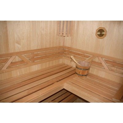 Afbeelding 10 van Azalp Sauna Runda 280x220 cm espen
