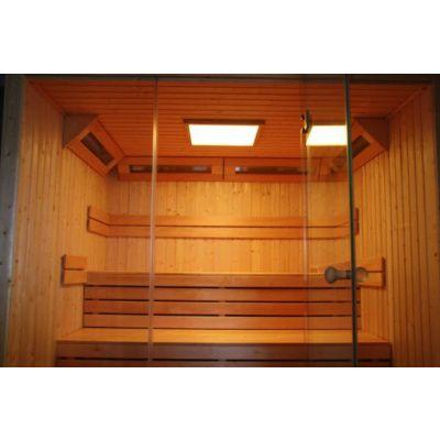 Afbeelding 11 van Azalp Sauna rugleuning Lumen, Elzen