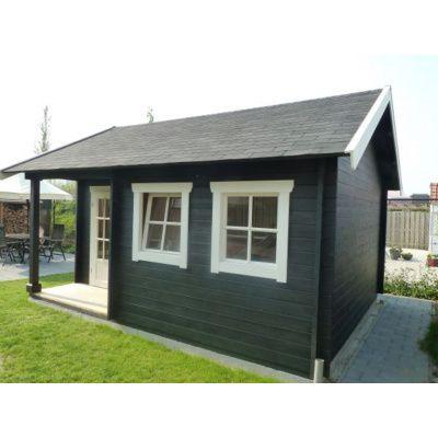 Afbeelding 3 van Azalp CLASSIC blokhut Cottage Style Cumberland 520x430 cm, 45 mm