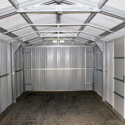 Afbeelding 12 van Duramax Garage Antraciet 1144x370 cm