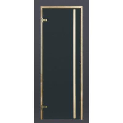 Hoofdafbeelding van Ilogreen Saunadeur Exclusive (Elzen) 79x189 cm, groenglas