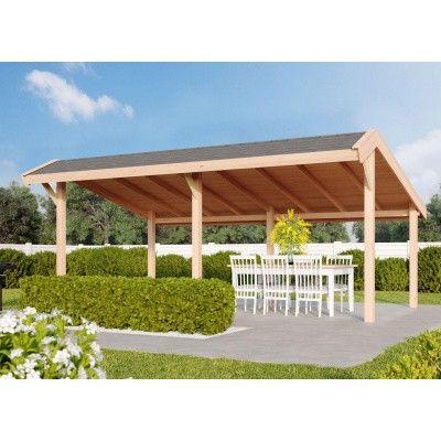 Hauptbild von WoodAcademy Tiara Douglasie Gartenlaube 600x300 cm