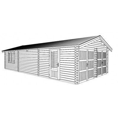 Afbeelding 12 van Graed Hangar Garage 595x900 cm, 44mm