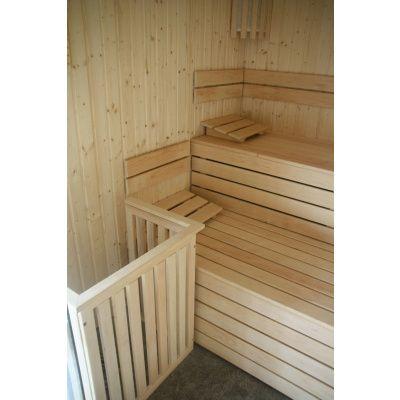 Afbeelding 30 van Azalp Sauna rugleuning Lumen, Elzen