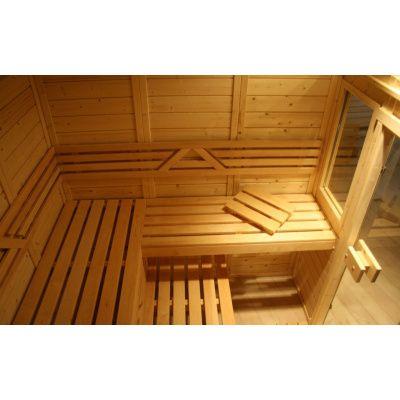 Afbeelding 20 van Azalp Saunabank recht, Elzen breedte 70 cm