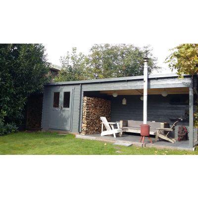 Bild 20 von Azalp Blockhaus Sanne 600x250 cm, 30 mm