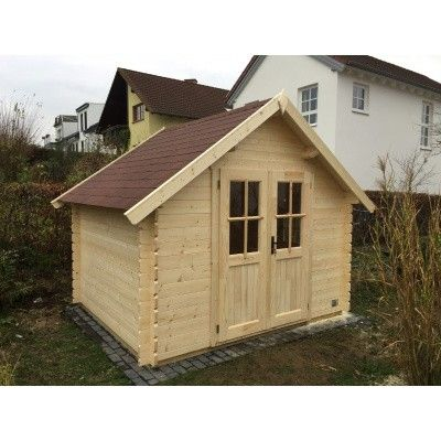 Bild 8 von Azalp Blockhaus Nisse 350x400 cm, 30 mm