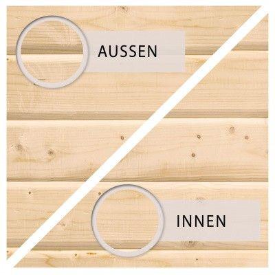 Afbeelding 7 van Woodfeeling Namen 3 met veranda 240 cm