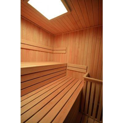 Afbeelding 13 van Azalp Sauna rugleuning Lumen, Elzen