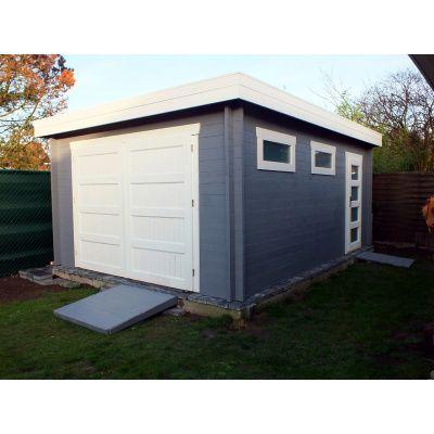 Afbeelding 14 van Azalp Garage Thijs 380x536 cm, 45 mm Modern