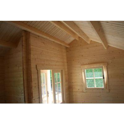 Afbeelding 6 van Azalp CLASSIC blokhut Cottage Style Cumberland 520x430 cm, 45 mm