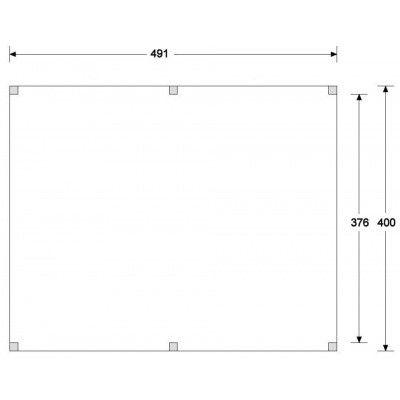 Afbeelding 2 van CarpGarant Overkapping Douglas 400x500 cm (GC135156)