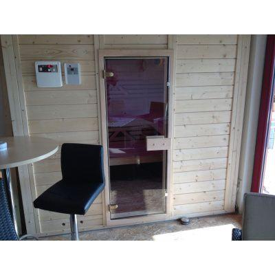 Afbeelding 27 van Azalp Massieve sauna Genio 240x166 cm, 45 mm