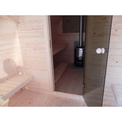 Afbeelding 6 van Interflex Sauna Pod 4m