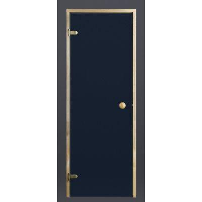 Hoofdafbeelding van Ilogreen Saunadeur Trend (Vuren) 199x79 cm, blauwglas