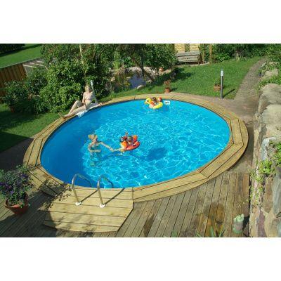 Afbeelding 3 van Trend Pool Ibiza 450 x 120 cm, liner 0,8 mm (starter set)