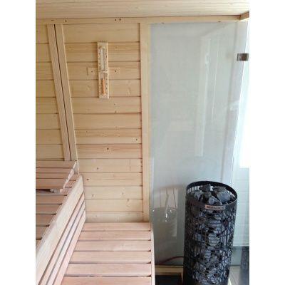Afbeelding 21 van Azalp Sauna Luja 230x230 cm, 45 mm