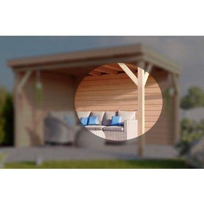 Hoofdafbeelding van WoodAcademy Achterwand Douglas 700 cm (142561)*