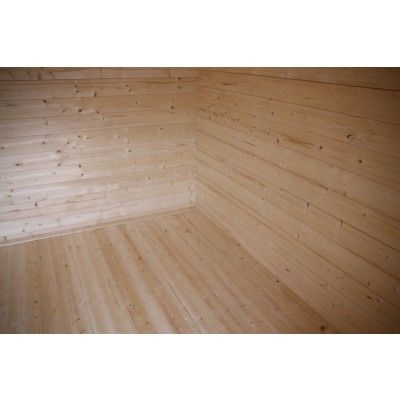 Afbeelding 2 van Azalp Vloer voor blokhut categorie 12*