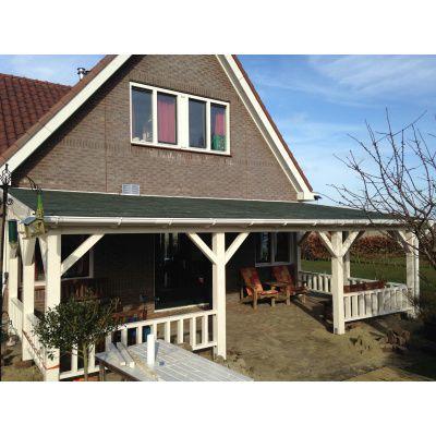 Afbeelding 6 van Azalp Houten veranda 400x400 cm