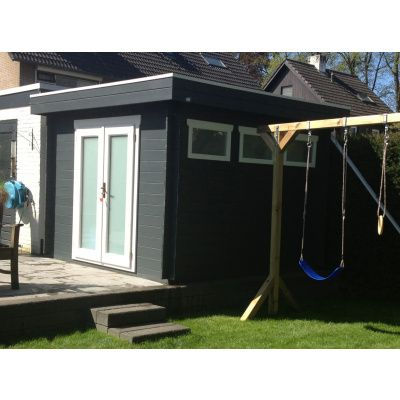 Bild 19 von Azalp Blockhaus Ingmar 350x400 cm, 45 mm