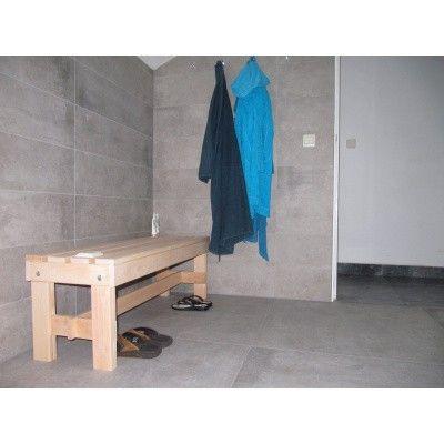 Afbeelding 9 van Azalp Saunabank vrijstaand, Elzen breedte 60 cm