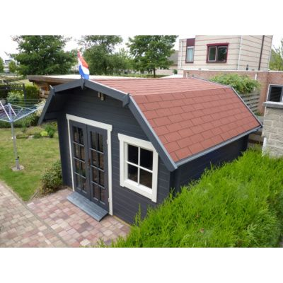 Bild 2 von Azalp Blockhaus Cornwall 450x300 cm, 45 mm