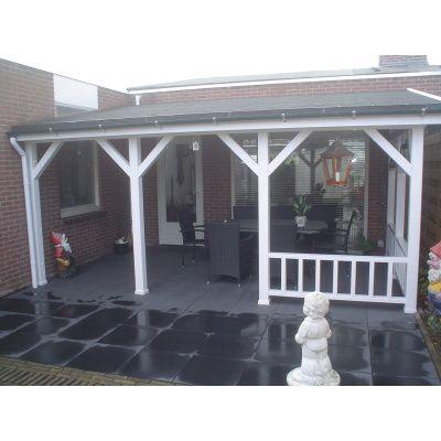 Afbeelding 29 van Azalp Houten veranda 400x400 cm