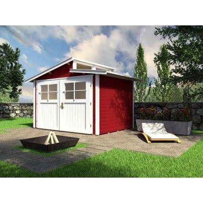 Hoofdafbeelding van Weka Tuinhuis 226 Gr. 4 Zweeds rood