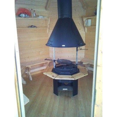 Afbeelding 10 van Azalp Grill met schoorsteen