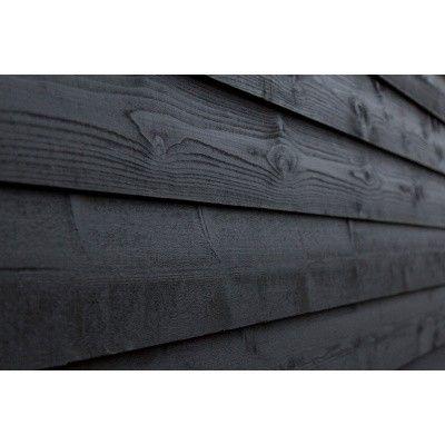 Afbeelding 2 van WoodAcademy Nefriet excellent Nero blokhut 580x400 cm